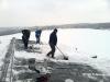 příprava na shazování sněhu