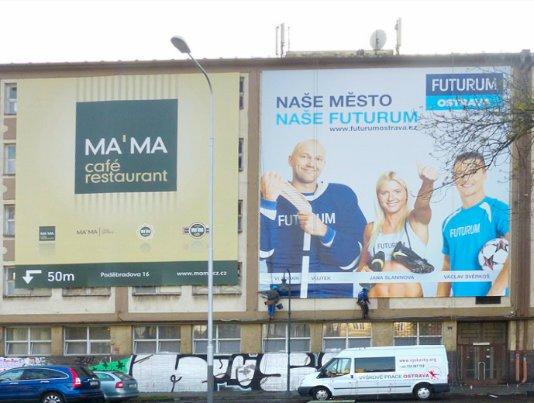Banner Ostrava centrum