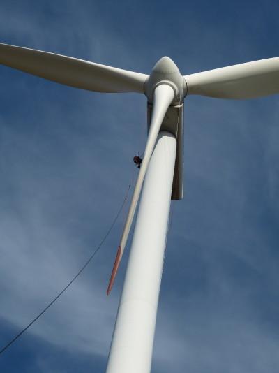 Dokumentace stavu větrné elektrárny