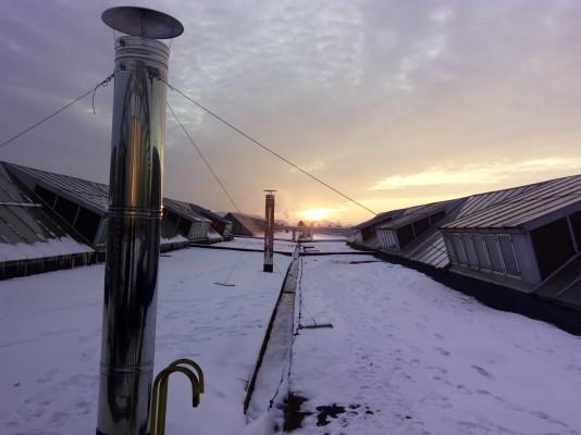 Montáž kabin lakovací linky a jejich technologií IFE Brno